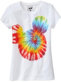 tie dye Mickey..I am so going to make one this summer
