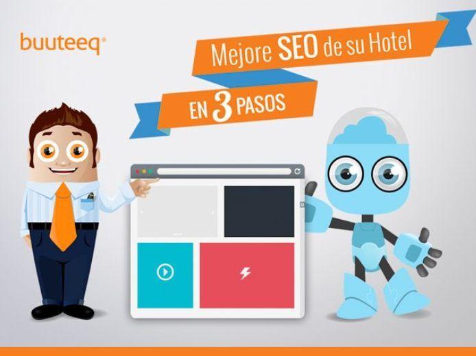 Hoy, el posicionamiento de las páginas de hoteles es fundamental para generar mayor presencia en línea y en buscadores como Google. Lo invitamos a descargar este libro donde podrá conocer diversas herramientas acerca de cómo mejorar el SEO. http://www.buuteeq.com/es-es/ebook-seo-es