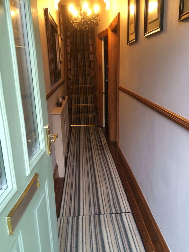 Long Narrow Hallway Victorian Terrace Wall Colour Dulux