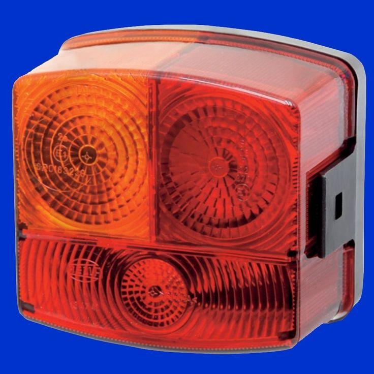 Hella Rücklicht, Rückleuchte, Schlußleuchte eckig für Fendt E1 63230