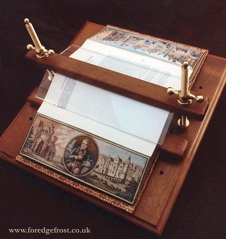 The Fore-edge display press