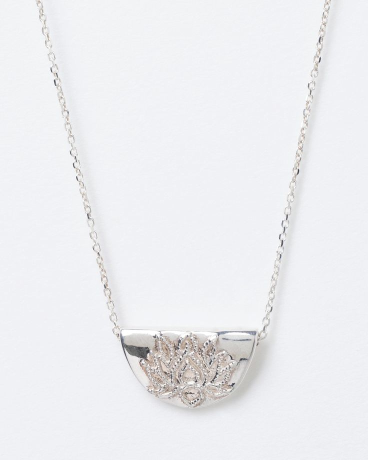 Lotus Short Necklace by By Charlotte. Tap image to see more at THE ICONIC.