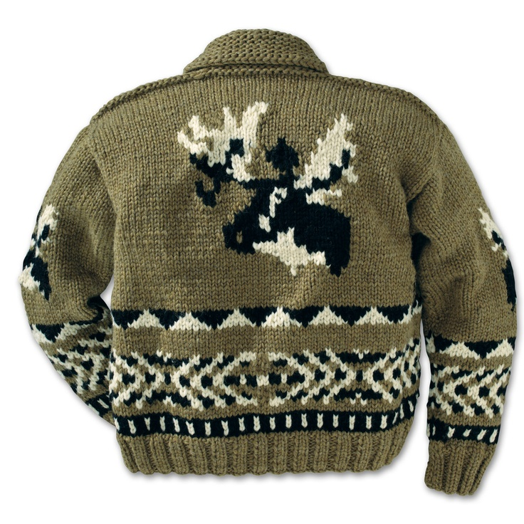 The Cowichan Sweater