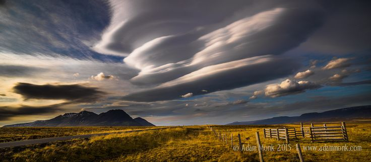 Clouds in Wide angle, Iceland by Adam Monk on 500px