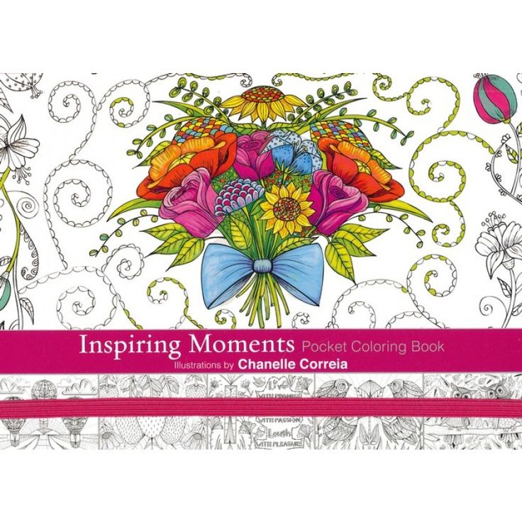 Inspiring Moments Colouring Book (A5) (Paperback) R49.95