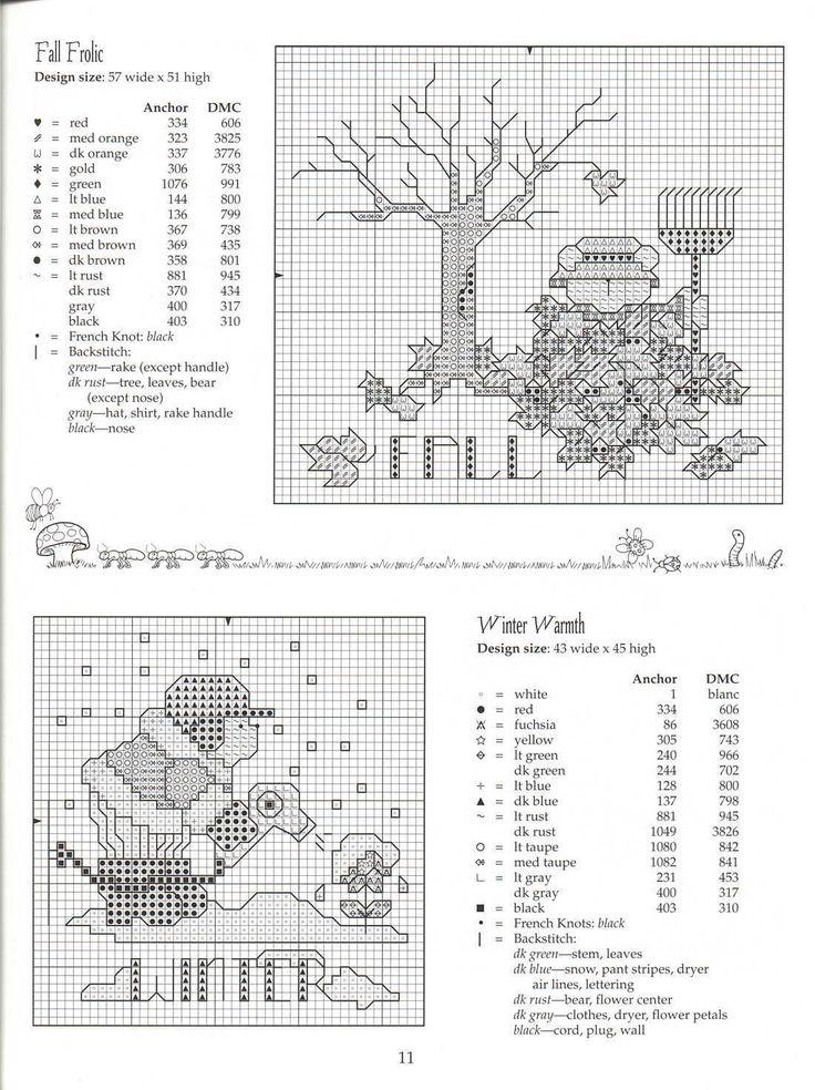Schema punto croce Garden Giggles 12