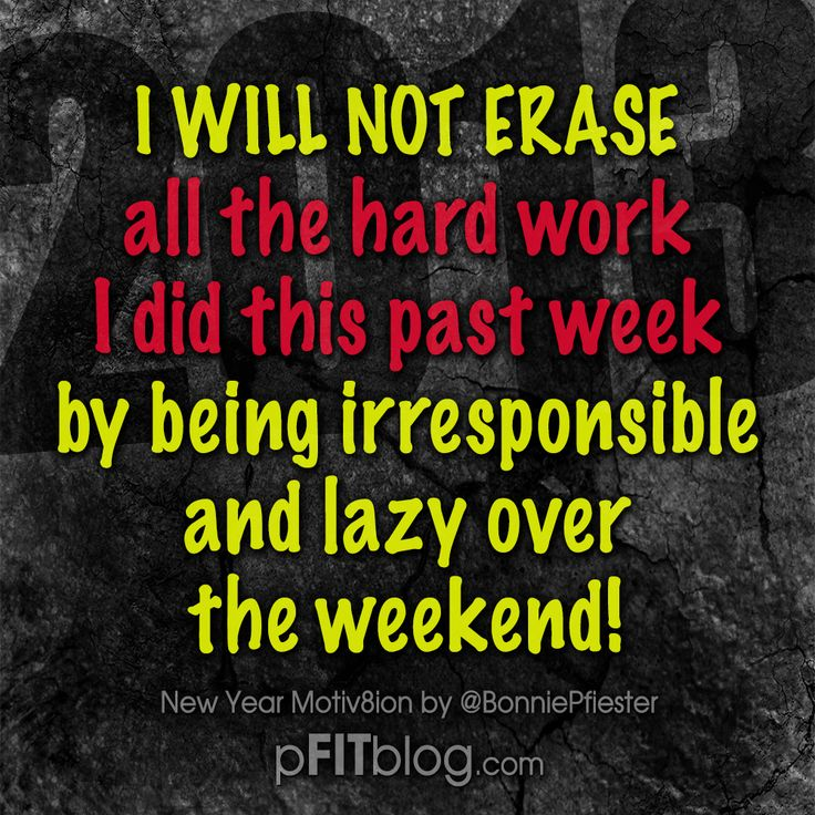 30 Days of Motivation: Don't Let Your Weekends Get in the Way of Your Goal
