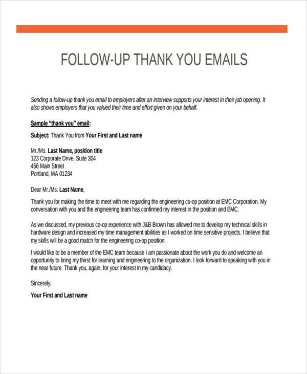 Offer something valuable in return to demonstrate that you're also a giver, not a taker. Awesome Thank You For Meeting Email Template In 2021 Thank You Email Interview Thank You Email Job Letter