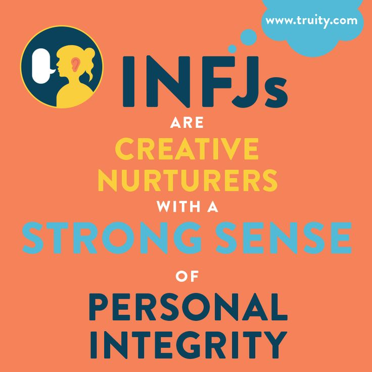 INFJs are creative nurturers with a strong sense of personal integrity. Don't know your Myers Briggs type? Meet with a CCBC Career Counselor today to learn more about your personality and best-fit careers!