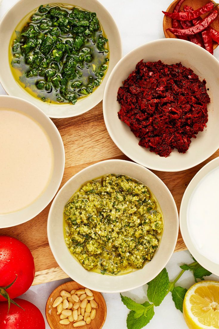 Master these simple sauces, which offer maximum flavor for minimum effort. (Photo: Jessica Emily Marx for The New York Times)