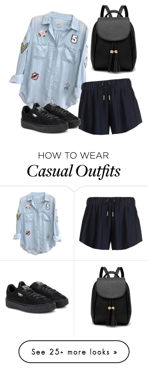 """Casual"" by secret-girl02 on Polyvore featuring Rails, adidas Originals and Puma"