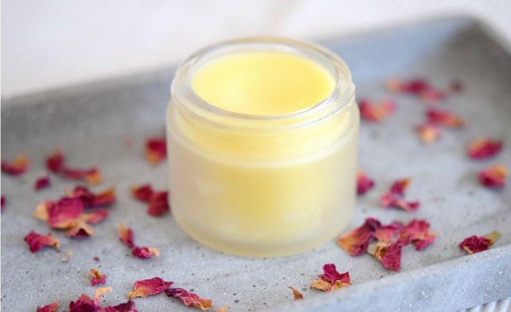 Wunderbar duftender Rosenbalsam zur Pflege wunder oder rauer Hautstellen [Update Grüne Kosmetik]