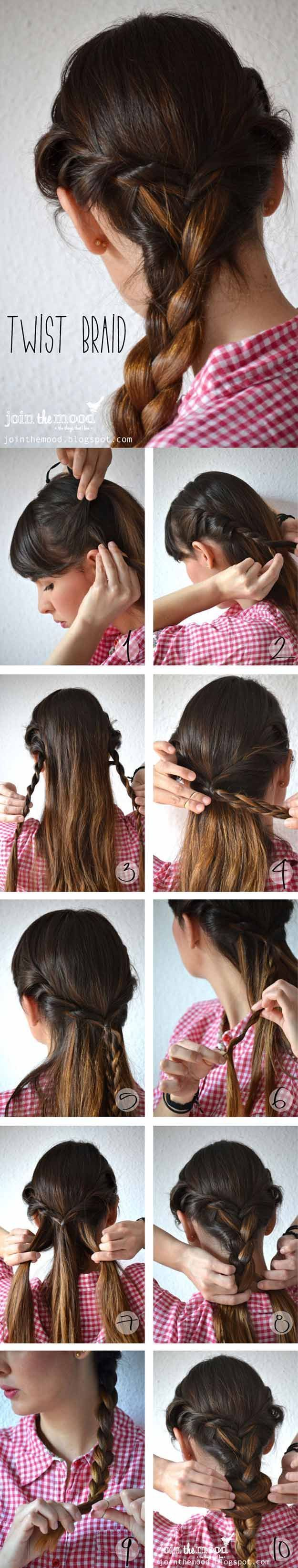 9089 best Easy hairstyles images on Pinterest