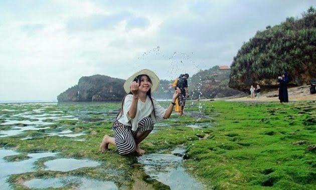Pin Di Pantai Kukup Gunung Kidul Jogja Info Wisata