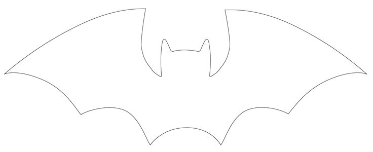 25 Best Ideas About Bat Template On Pinterest Bat