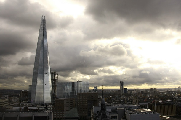 Валерия Плецкая  фото The Shard of London