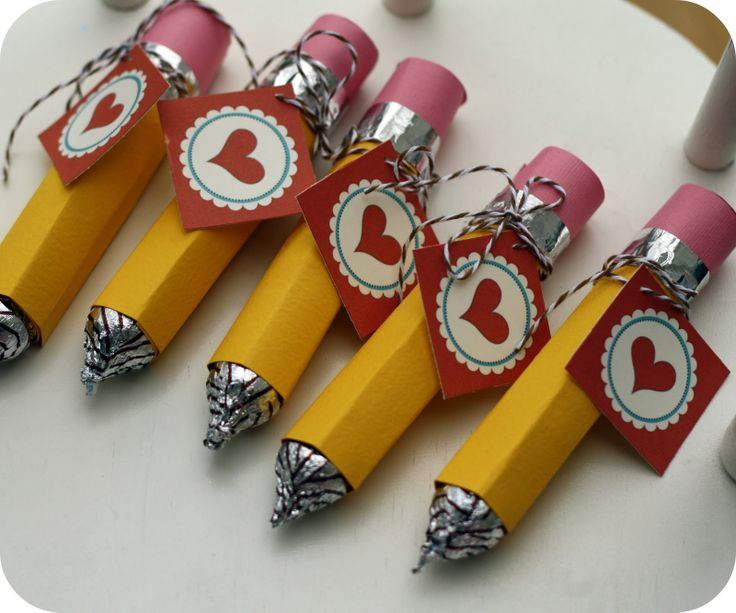 Rolo or Mento Pencils as a valentine  - or use for Teacher or Admin Assistant Appreciation Day!