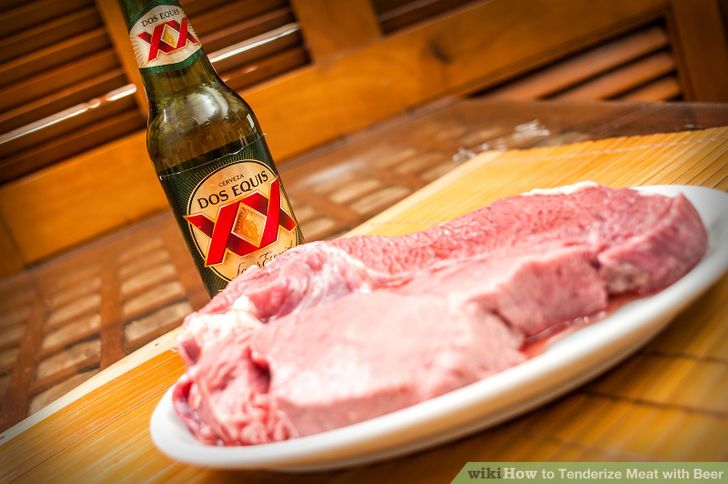 "#HowToTenderizeMEATwithBEER ""How to Tenderize MEAT with BEER http://www.wikihow.com/Tenderize-Meat-with-Beer"
