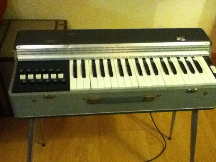 Vintage 60's Lorenzo Electric Organ Keyboard (Accordian Style) by TotallyRetroVintage on Etsy