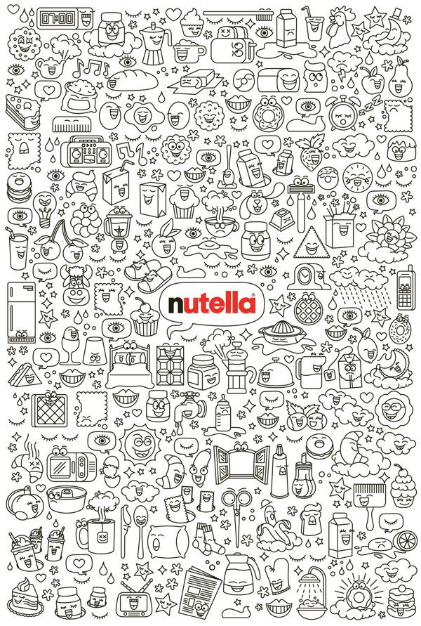 NUTELLA _ Funny Morning Limited edition on Behance