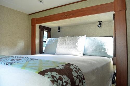 rv bedroom trailers wagons pinterest