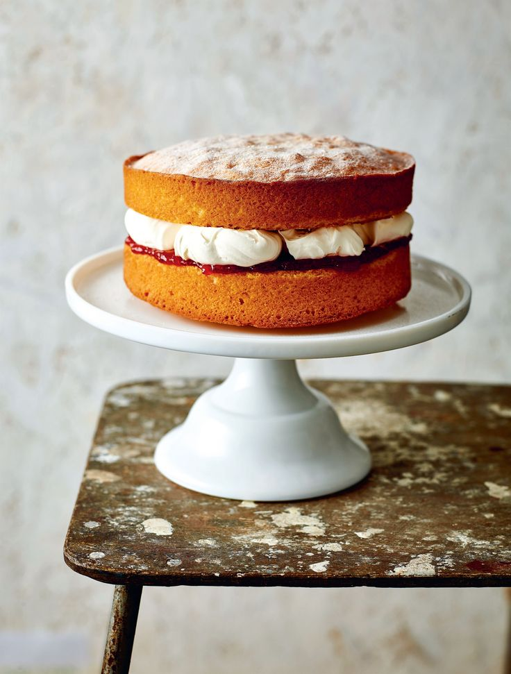 Victoria sponge recipe from B.I.Y. Bake It Yourself | Cooked