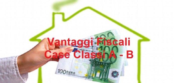 Vantaggi fiscali per case con risparmio energetico