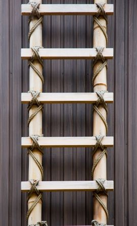 How to Make a Bamboo Ladder (9 Steps)