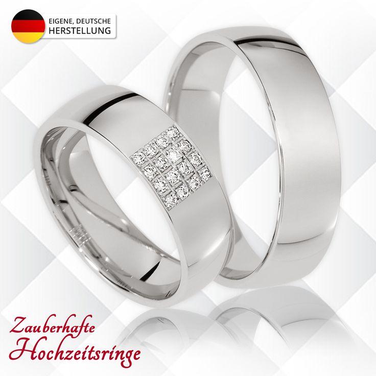 🔥 NEU: Hochzeitsringe Heilbronn 🔥 ▫ ab 333er Gold mit 16 Brillanten (0,16 Karat) ▫ inkl. Gravur ▫ inkl. Ring-Etui ▫ inkl. Versand ▫ in weiteren Farben/Legierungen erhältlich ▫ ab 780€ / Paarpreis