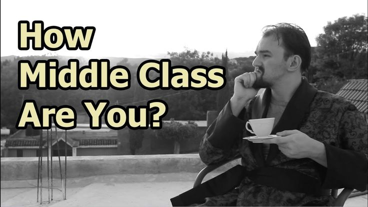 How Middle Class Are You? The UK/US Difference - Just A Thought #28