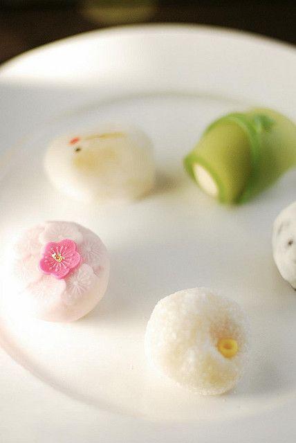 Japanese Sweets, wagashi,早春