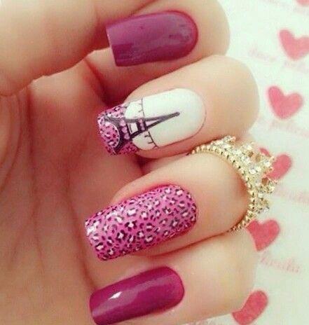Cute Nails · Paris Nail ArtParis ... - Best 25+ Eiffel Tower Nails Ideas On Pinterest Paris Nails