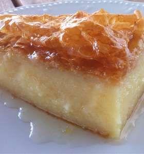 Traditional Greek Galaktoboureko recipe (Greek Custard Pie with Syrup)