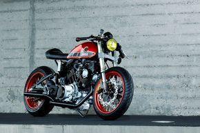 Yamaha Virago Cafe Racer (TR1)