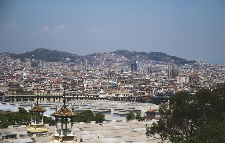 Panorama miasta Barcelona