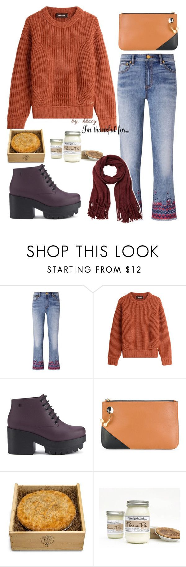 """""""Thankful #1"""" by kkaey ❤ liked on Polyvore featuring Tory Burch, Dsquared2, Melissa, J.W. Anderson, Kerber's Farm and Steve Madden"""