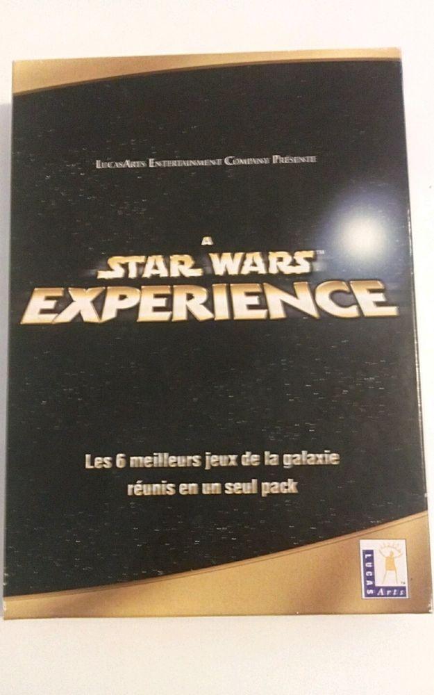 Star Wars Experience - 6 Jeux - PC - Version Française Intégrale ( TRES RARE )