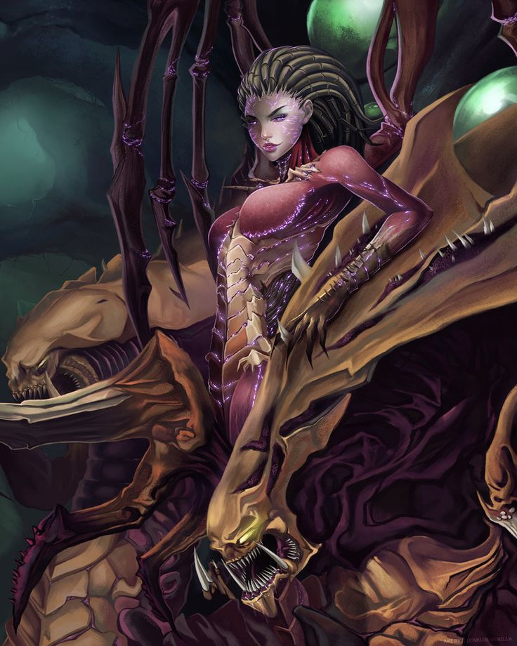 J!NX : Fan Art Friday - Sarah Kerrigan
