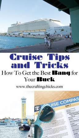 Taking a cruise? Cruise Tips and Tricks! How to get the most out of a cruise! - This is full of great ideas for a cruise.