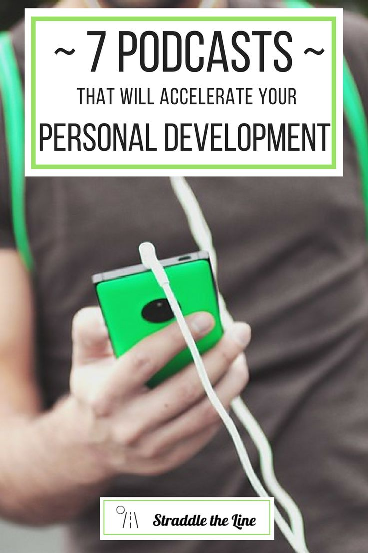 Seven podcasts to help millennials expand their mind and help your personal development.
