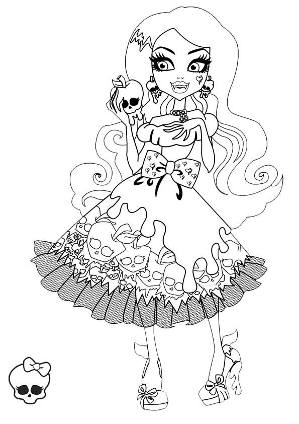 177 best monster high coloring pages images on pinterest ... - Monster High Dolls Coloring Pages