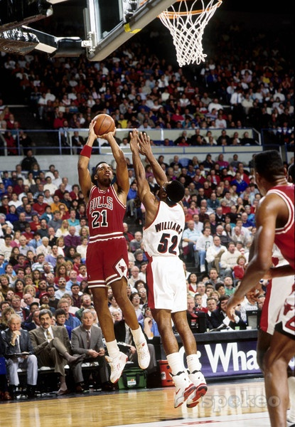 Chicago Bulls - Stacey King : 1989-1994