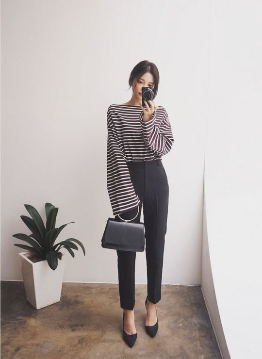 wide sleeve/cropped pant balance —j