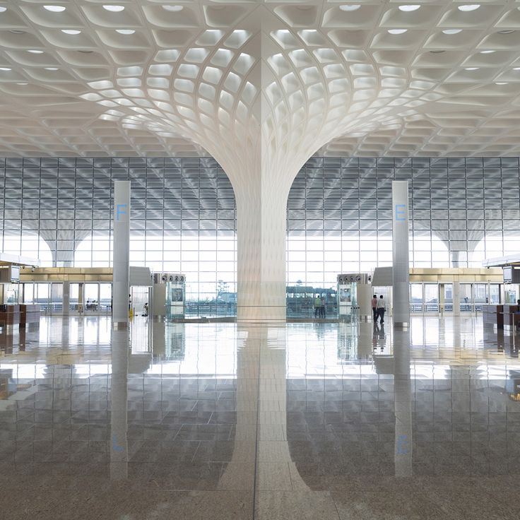 chhatrapati shivaji international — airport terminal building by SOM platinum A' design award winner in architecture, building and structure design category, 2014 – 2015 photo © robert polidori see more about this project on designboom
