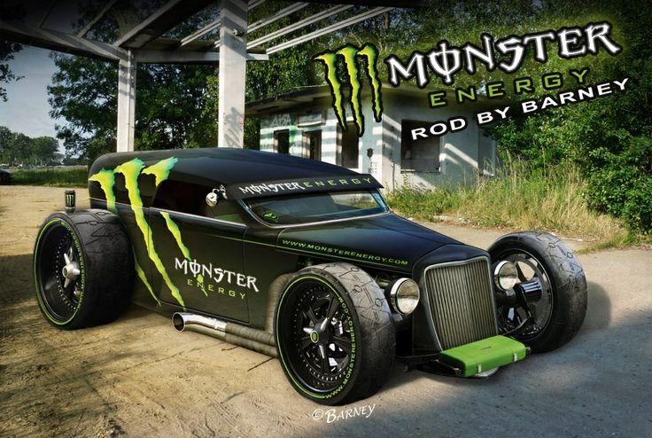 Bugi de course monster énergie 999 000€ neuf