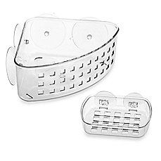 """(link) Links to Bed, Bath & Beyond for this product info/sale. *also available at Wal-mart* corner caddy $6 / Soap dish $3 ~~~ NOTE: Use this in a hermit crab tank to give hermmies a place to eat, hang out or climb. Great way to add a """"moss pit"""" and """"shell shop"""", too. ~ for more great PINs w/good links visit @djohnisee ~ have fun!"""
