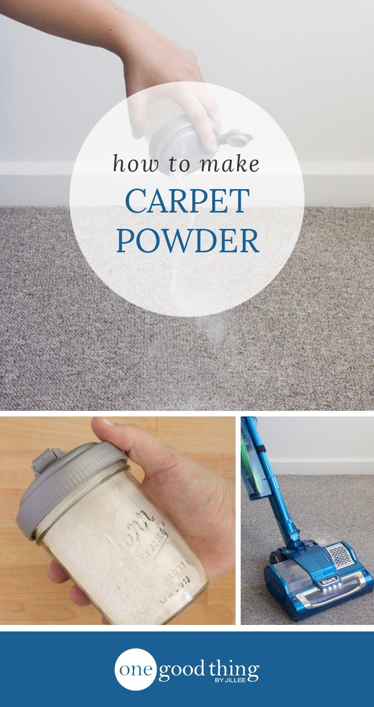 Learn how easy it is to make your own naturally deodorizing carpet powder. Use essential oils to make your carpets smell amazing!
