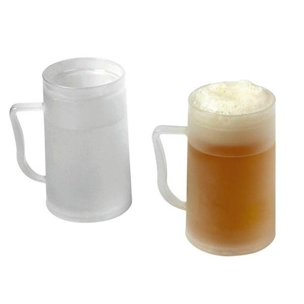 JARRAS DE CERVEZA PARA EL CONGELADOR. Regalos originales quieroregalarte http://www.quieroregalarte.com/home/650-jarra-para-congelar-8430306233673.html?search_query=cerveza&results=22 Pack de dos jarras de cerveza para el congelador, ya que con cualquiera de ellas tendrás la  cerveza siempre a punto para tomar en cualquier momento, fresquita, fresquita.....
