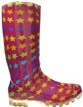 Supgod funky Wellies | These funky wellies for women are comfortable and have a good grip in the sole as well as extra tread. While a pair of thick socks are advised in winter, at least you won't be sliding around after or during a rainy walk | #welly #wellies #funky #wonderfulwellies | www.wonderfulwellies.co.uk