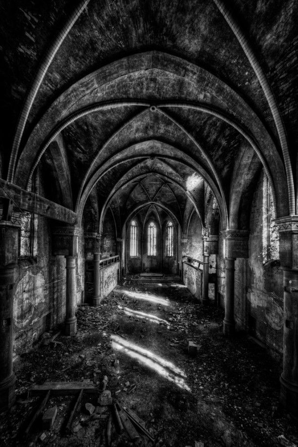 abandoned churches | Abandoned Churches – Photographer – Matthias Haker